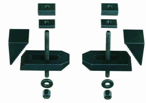 Preisvergleich Produktbild Proxxon Stufen-Spannpratzen (gefräst), 2 Stück, 24257