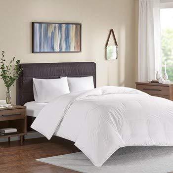 True North by Sleep Philosophy Bettdecke aus 100% Baumwolle Twin weiß (Twin Bettdecke 100 Baumwolle)
