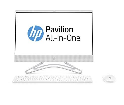 HP 22-c0002ns - All in One - Ordenador de sobremesa 21.5' FullHD (Intel Pentium J5005, 4GB RAM, 1TB HDD, Intel Graphics, FreeDos), Color Blanco, con Teclado QWERTY Español y Ratón