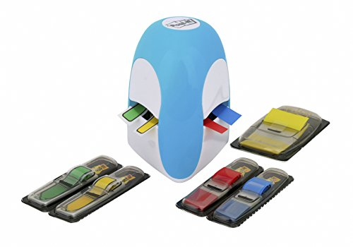 post-it-index-tridex-blue-dispenser-with-5-packs-of-flags