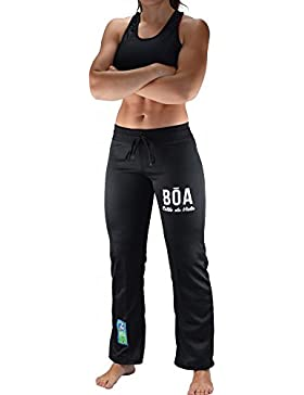 Bõa Capo Eira Pantalones Mujer Pantalones Negro, Negro, Medium