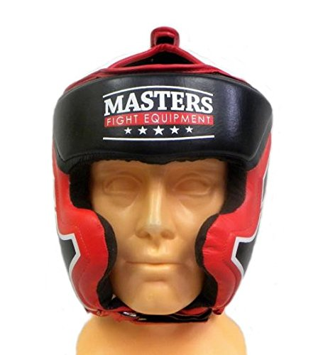 Masters Fight Equipment KSS TECH Leder Kopfschutz Boxen Kickboxen MMA Muay Thai
