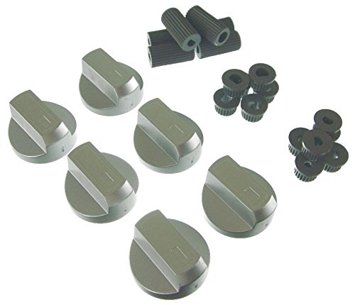 ufixtr-universal-silver-control-knobs-for-ovens-cookers-and-hobs-pack-of-6