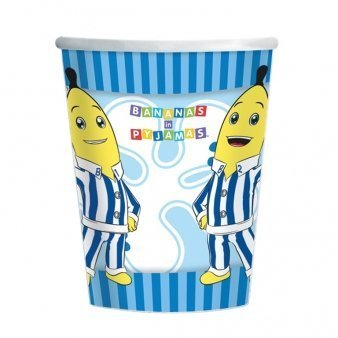 Bananas in Pyjamas Party Cups x 8
