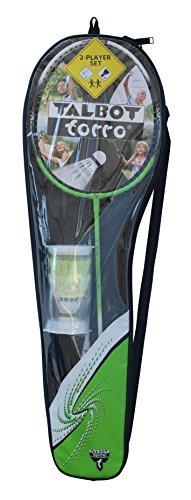 Talbot Torro Set Badminton-Schläger 2-Attacker im Thermobag (2014), Grün Weiß, 449511 - 4