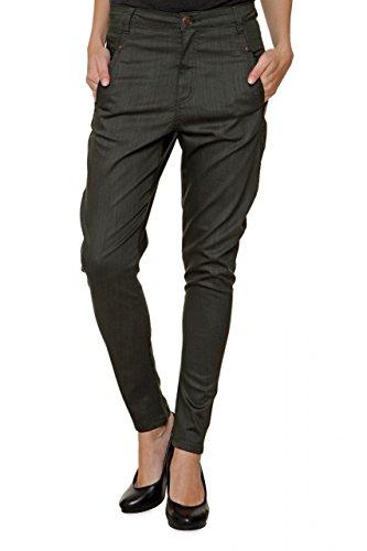 Fiveunits 5Units Damen Jeans Skinny Boyfriend Jeans JOLIE, Farbe: Armeegruen, Größe: 25 (Herz-pocket-shorts)