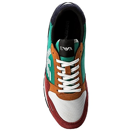 Emporio Armani Baskets pour homme Multicolore