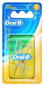 Oral-B Interdental Nachfüllpack fein 2,7mm, 12 St