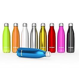 EXTSUD 500ml Bottiglia Termica Acciaio Inox Termos Bottiglietta per Outdoor