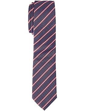 Tommy Hilfiger Tailored Herren  Krawatte TIE 7CM TTSSTP17203, , , , , Gr. One size (Herstellergröße: OS), Blau...