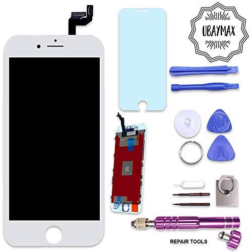 UBaymax Kit de Remplacement Ecran Compatible iPhone 6S Blanc avec Outils Aimantés et LCD Tactile (iPhone 6S White)