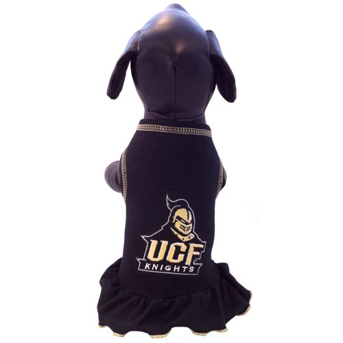 All Star Dogs NCAA Central Florida Golden Knights Cheerleader Hundekleid, Herren, Large Ucf Golden Knights