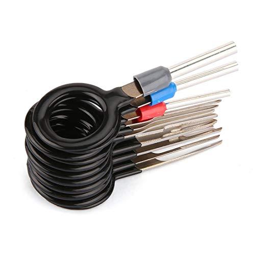11pcs-Car-Plug-Terminale-Cablaggio-Removel-Chiave-Connettore-Pin-Terminale-Rapido-Estrattore-Strumento-KFZ-Stecker-ISO-Pin-Release-Tool