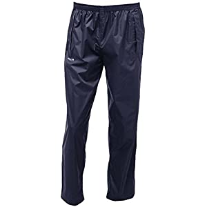 41og%2BnxFDHL. SS300  - Regatta 100% Waterproof Over Trousers | Taped Seams