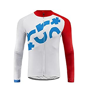 41og%2Bv7bFiL. SS300 Uglyfrog Completo Magllia Ciclismo Manica Lunga da Uomo Traspirante Asciugatura Veloce Moda CXMX02F