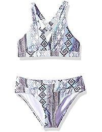 178a7b788c Next Girls  Big Surplice Halter Top and Bikini Bottom Swimsuit Set