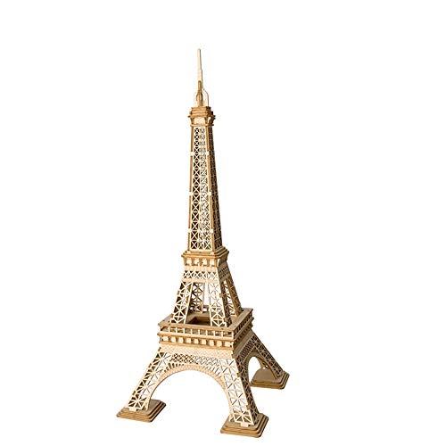 LSQR DIY 3D Holz Eiffelturm Puzzle Spiel Geschenk & Ornament Für Kinder Kind Freund Modellbau Kits Kinder Spielzeug