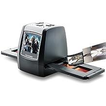 BW® 1.4pulgadas escáner de película–LCD, ranura para tarjetas SD, color negro
