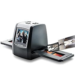 BW 1.4inch Film Scanner - LCD SD Card Slot - Black