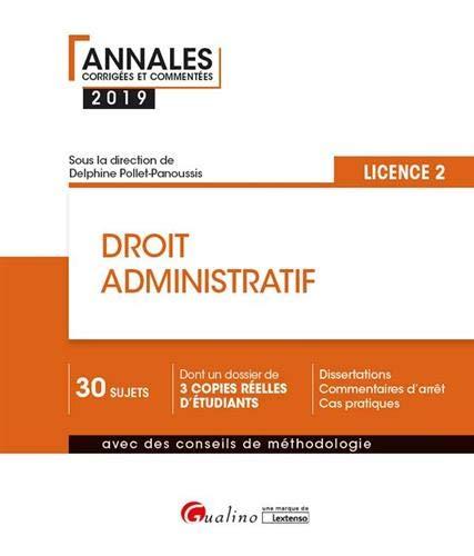 Droit administratif Licence 2