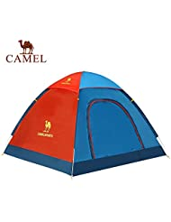 engranaje al aire libre Camel tienda de campaña al aire libre de ocio al aire libre de la mano que lanza tres cuartas partes suministros Tienda de campaña