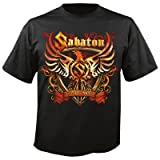 Sabaton Coat Of Arms T-Shirt schwarz L