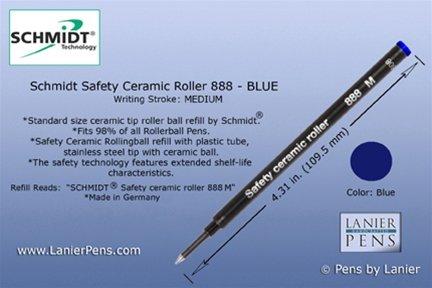 schmidt-888-ersatzpatrone-fur-tintenroller-medium-blaue-tinte-6-stuck