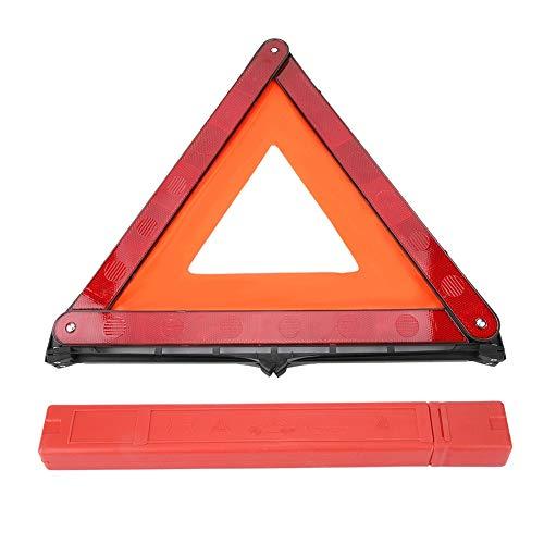 Warndreieck Reflektierendes Dreieck, faltbares Auto Reflektierendes Dreieck Notfehlerzeichen Warnbrett Auto Stoppschild