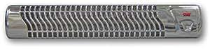 Wickeltisch-Wärmestrahler chrom, Wandmontage, mit Abschaltautomatik