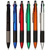 SONGJUAN Schülerbedarf Mehrfarbiger Kugelschreiber 6Tlg