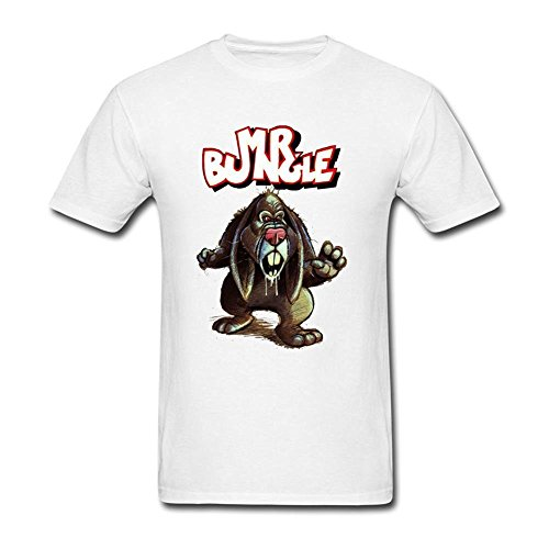 Herren's Mr Bungle Aging Wrath Of The Easter Bunny T Shirt Medium (T-shirt Bunny Easter)