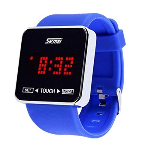 NEEKY Herren Armbanduhr,Sportuhren,Smartwatch,Für Unisex Fitness Uhren - Schrittzähler,Jungen Mädchen Sport Watch des Touch Screen Digital LED