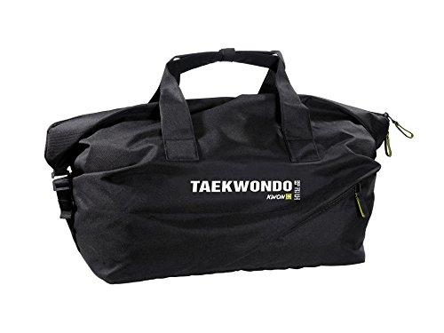 Kwon Reisetasche medium mit verschiedene Kampfsportmotive schwarz Taekwondo