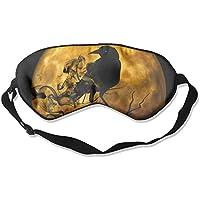 Birds With Moon Sleep Eyes Masks - Comfortable Sleeping Mask Eye Cover For Travelling Night Noon Nap Mediation... preisvergleich bei billige-tabletten.eu