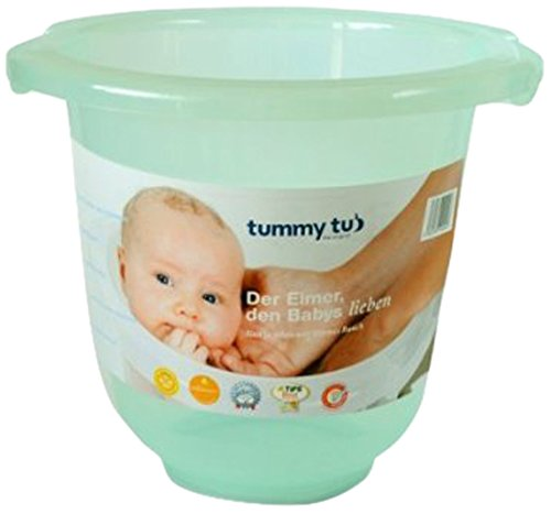TUMMY TUB Badeeimer green