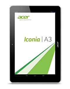 "Acer A3-A10 Tablette Tactile 10.1 "" Mediatek Android Blanc"