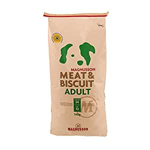 Magnusson Meat & Biscuit Adult, 1er Pack (1 x 14 kg)