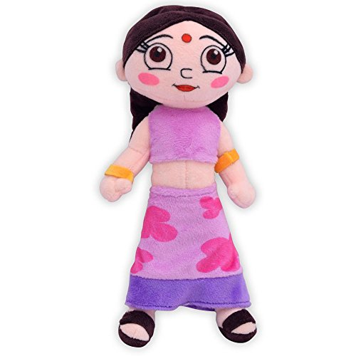 Chhota Bheem Chutki Plush Toy, Purple (20 cm)