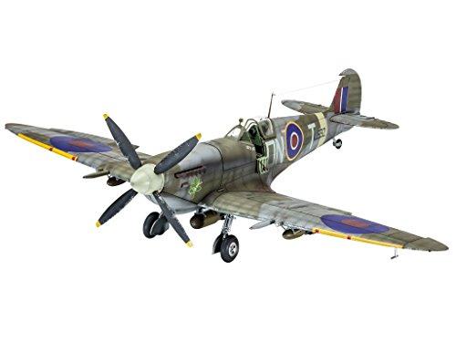 Revell Modellbausatz Flugzeug 1:32 - Supermarine Spitfire Mk.IXc im Maßstab 1:32, Level 5