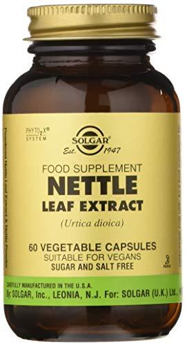 Solgar Ortiga Extracto hoja Cápsulas vegetales -