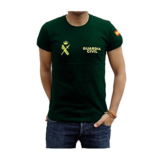 Piel Cabrera Camiseta Guardia Civil Talla L