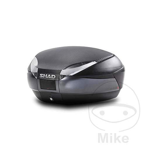 SHAD - D0B48106R : Baul maleta SH48 gris + tapa +