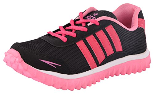 Shoes T20 Women's Pink and Black Running Shoes - 5 UK