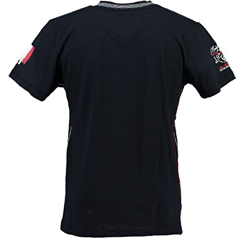 Geographical Norway V-Neck Herren T-Shirt JALIUM MEN Navy