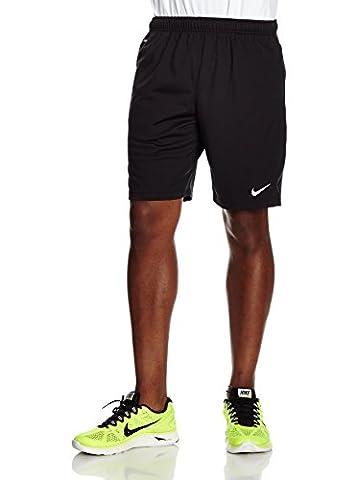 Nike Men's Libero Knit Shorts - Black/White, Medium