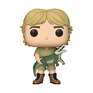 Funko Pop TV: Crocodile Hunter-Steve Irwin Chase (Stlyes May Vary) The w Figura Coleccionable, Multicolor (43977)
