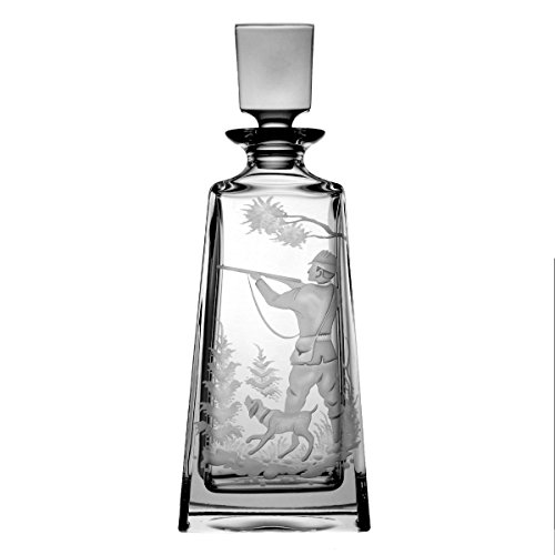 Lot de aljulia 3171 Carafe en Cristal Chasse – 700 ML