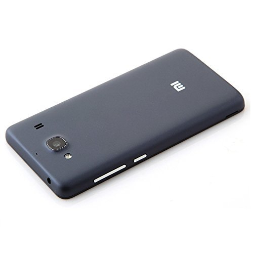 Xiaomi Redmi 2/Redmi 2 Prime High Quality Hard Back Battery Case Cover - BLACK