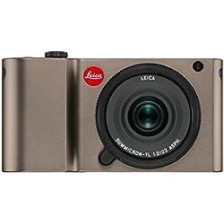 Leica TL 16.3MP CMOS 4928 x 3264Pixeles Titanio - Cámara digital (Cuerpo MILC, CMOS, 4928 x 3264 Pixeles, 4928 x 3264, 4272 x 2856, 3264 x 2160, 2144 x 1424, 1632 x 1080, 4944 x 3278, 3:2, 23,6 x 15,7 mm)