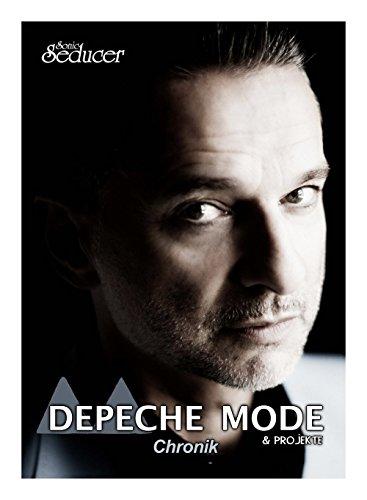 Depeche Mode Chronik / Buch von Sonic Seducer im Hardcover + Nebenprojekte von Dave Gahan und Martin Gore Buch-Cover
